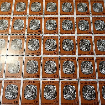 Morocco Morocco N°757 Sheet Sheet 50 Neuf Luxe Mnh Value