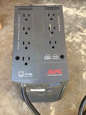 APC 7-Outlet Back-UPS Pro 500 Uninterruptable Power Supply BP500UC With Battery