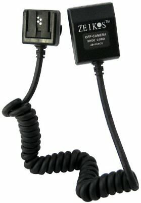 Zeikos TTL-Off-Camera Flash Cord for Sony A900, A700, A380, A350, A330, A300