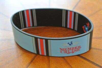 NEW Disney Cruise Line DCL DVC MEMBERS ONLY ALASKA 2015 Wonder RUBBER WRISTBAND