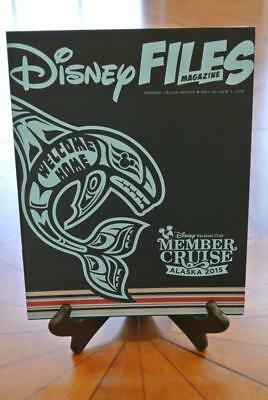 NEW Disney Cruise Line DCL DVC MEMBERS ONLY ALASKA 2015 Wonder FILES MAGAZINE