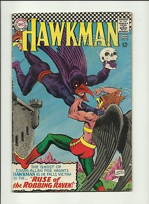 Hawkman No. 17 Ruse of the Robbing Raven - 1966 DC Comic
