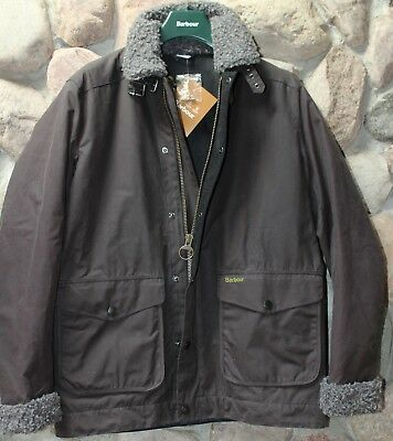 Barbour Wax Jacket Coat Cattrick Gray MWX1128CH52 New Large  L