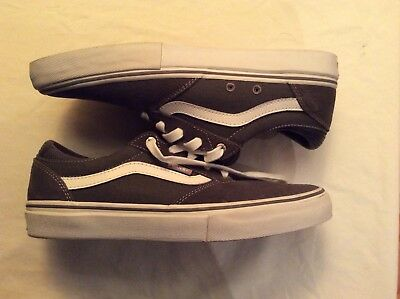 fafe7835ae7 VANS GILBERT CROCKETT Pro Dark Gray Shoes