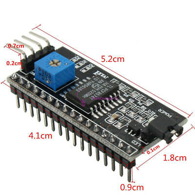 IIC I2C TWI SP​​I Serial Interface Board Module Port For Arduino 1602LCD FR