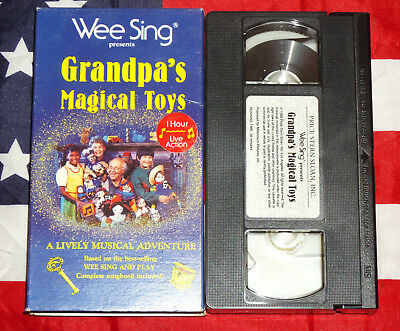 wee sing grandpas magical toys vhs video 899 picclick