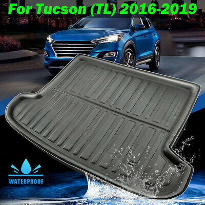 For Hyundai Tucson 2015-2019 Rear Trunk Cargo Mat Floor Carpet Tray Boot Liner
