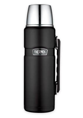 Thermos Stainless Steel King 40 oz. Vacuum Insulated Tumbler in Matte Black