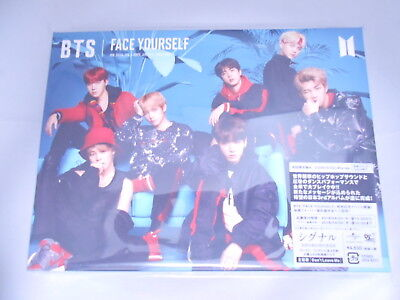 BTS FACE YOURSELF First Limited Edition CD + Blu-ray + Photo booklet + sticker A