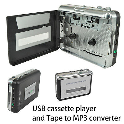 USB Tape to PC Cassette to MP3 / PC Converter Captue Adapter Audio Music Player