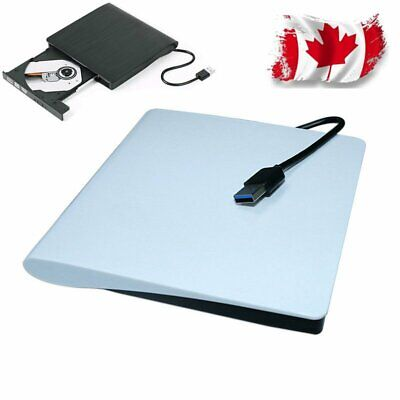 External DVD Drive USB 3.0 Slim Portable Writer/Burner/Rewriter/CD ROM Drive NEW
