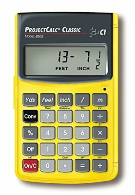 Projectcalc Classic Feet Inch Fraction HighQuality Meter Project Calculator 8503