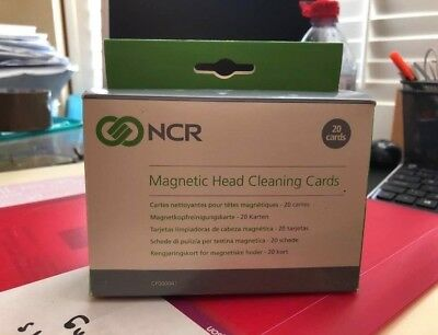Magnetic Head Cleaning Cards