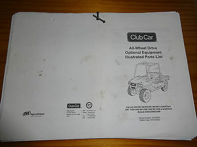 Ingersoll rand club car carryall manual manual array ingersoll rand clubcar carryall awd 294295xrtbobcat 2200 parts rh picclick fandeluxe Gallery