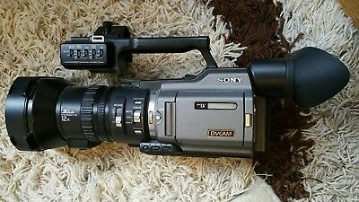 sony dsr 250p camcorder professional broadcast dvcam