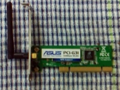Asus Wireless Network Adapter, PCI-G31
