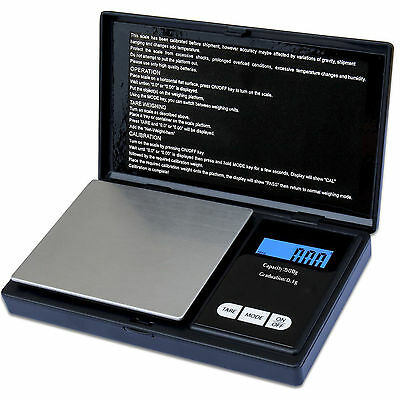 0.1G-500G Digital Pocket Weighing Mini Scales Gold Kitchen Jewellery Scale Herbs