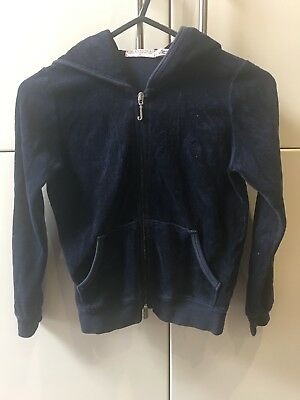 Girls I Love Juicy Navy Tracksuit Age 6 Excellent Condition