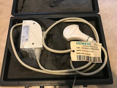 Siemens Ultrasound 5.0C40S Transducer Curved Array 45 29 520 LH 300 NEW in case