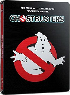 Ghostbusters Steelbook Blu-Ray Limited Edition Region Free Brand New