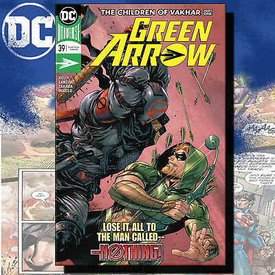 Green Arrow #39 - Dc Comics