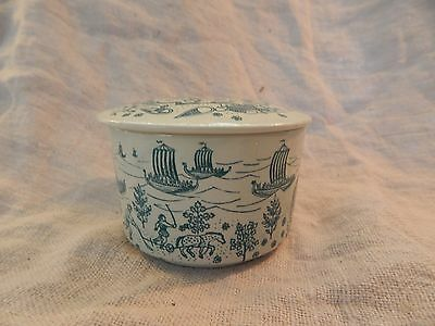 Vintage Nymolle Paul Hoyrup Dish or Jewelry Box with Lid Denmark