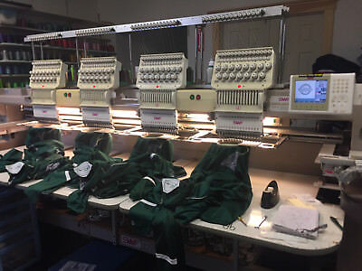 Embroidery, Screen Printing, & Uniform Business 26 years in Business, Turnkey!