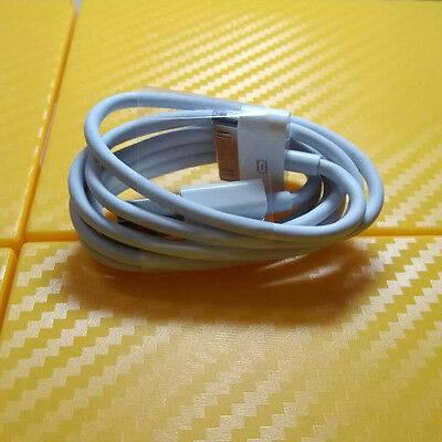 30 Pin USB Data Cable Charger For Apple iPhone 3GS 4 4S 4G iPod