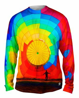 Yizzam- Hot Air Balloon Inflating - New Mens Long Sleeve Tee Shirt XS S M L XL