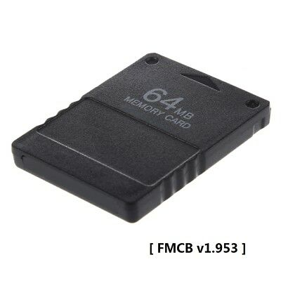 Brand-new 64MB PS2 Memory Card with installed Free McBoot FMCB v1.953
