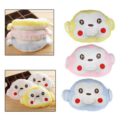 Pillow Newborn Infant Baby Support Cot Cushion Pad Prevent/Anti Flat Head Monkey