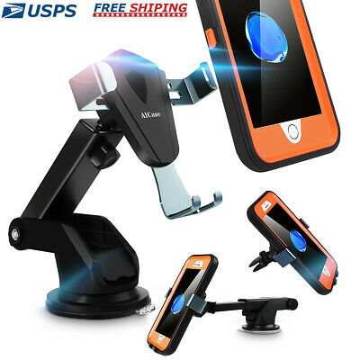 Universal 360° Gravity Car Air Vent Mount Windshield Holder Stand for Cell Phone