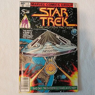 Marvel Comics Group  Star Trek  The Motion Picture No.3 June1980 Comic Book