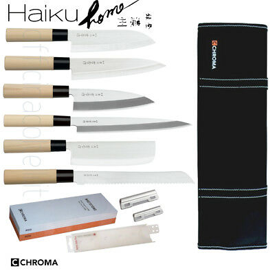 Set Completo Coltelli Giapponesi Chroma Haiku Home