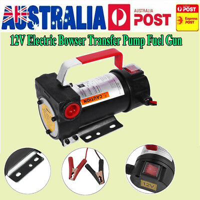 12V Oil Transfer Pump Diesel Fuel Electric Bio-Diesel Commercial Auto 40L/Min