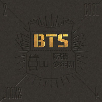 BTS [2 COOL 4 SKOOL] 1st Single Album CD+Foto Buch K-POP SEALED