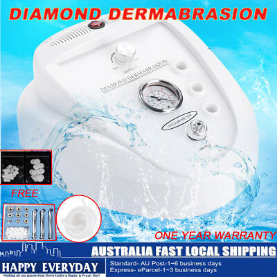 Diamond Dermabrasion Microdermabrasion Machine System Simple Operate AU Stock