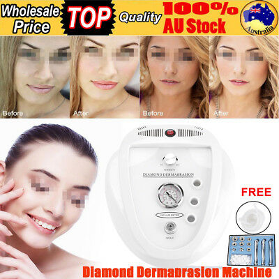 New Diamond Dermabrasion Machine Microdermabrasion System Simple Operate AU