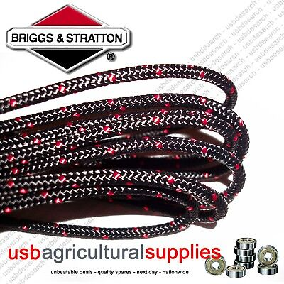 Genuine Briggs 3.6Mm X 1.5 Mtr Metres Pull Starter Cord Rope 790966 Engine