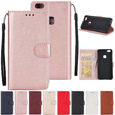 PU Leather Wallet Flip Case Cover For Huawei P8 P9 mate P10 P20 Lite P20 pro 6A