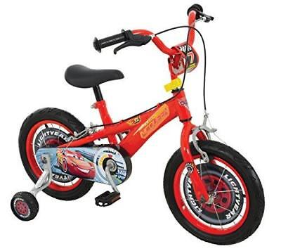 Cars 3 Boy Disney Bike, Red Fully enclosed printed chainguard , 14-inch