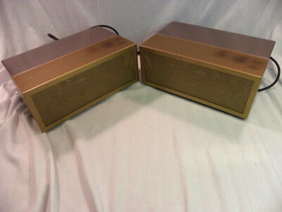 Twin Pair of Vintage Marantz Model 2 Model Amplifiers