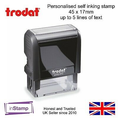 Personalised Nhs Doctor Nurse Hospital Self Inking Rubber Stamp Business Address