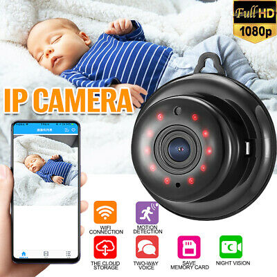 SMART PHONE APP Wireless Wifi Home Security Night Vision 720p IP