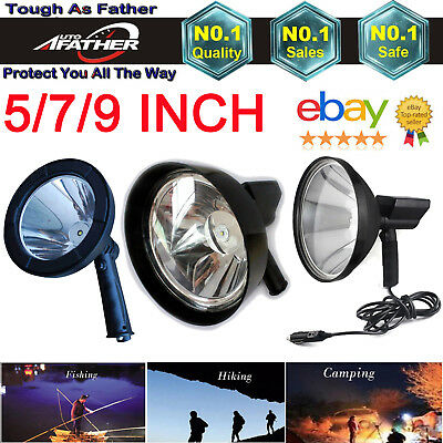 1000W HID Hand held LED HID Camping Spot Light Spotlight Hunting Fishing OffRoad