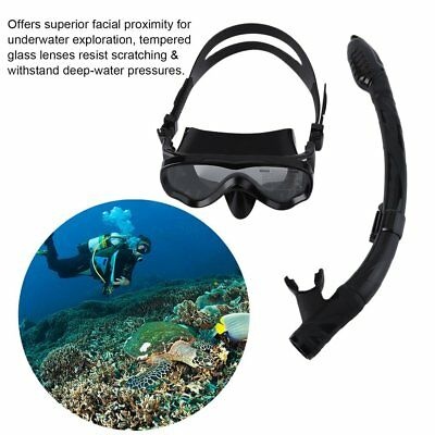 ALOMA Kids Scuba Diving Mask Silicone Snorkel Mask Durable Diving Masks Set GW