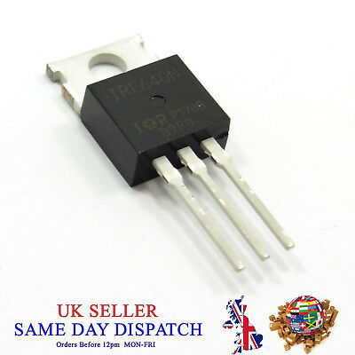 N-Channel MOSFET IRF640B 18A Power 200V 640B IRF640 Rectifier Transistor TO-220