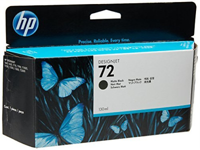 HP NO.72 MATTE BLACK INK 130ml  AC NUEVO