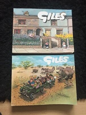 Giles Annuals 1965/66 And 1967/68
