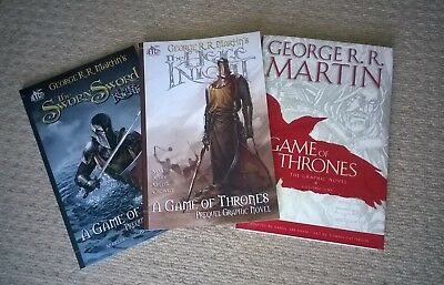 Game of Thrones vol.1, Hedge Knight, Sworn Sword graphic novels - (Dynamite)